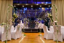Wedding Dinner at The Auditorium by Changi Cove Singapore