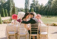Styled shoot in one of the most beautiful castles in France by Katerina Meyvial Wedding & event planner