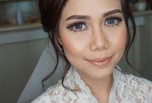 Bride Makeup for Ms. Pika by Chesara Makeup