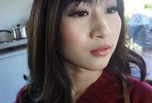 Ms. Messy Prewedding New Zealand  by Chesara Makeup