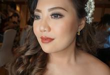 Bride Makeup Ms. Johanna by Chesara Makeup
