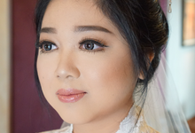Bride Ms. Hanna  by Chesara Makeup