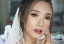 Wedding Makeup for Alice by Chesara Makeup
