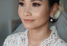 Wedding Makeup for Ms. Farah by Chesara Makeup