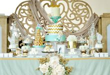 Glitter Glamour Wedding by D' Artisans