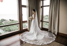 Chezca in LUCIA by Francis Libiran Bridal