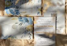 Wedding Invitation amplop kalkir hardcover by ChiffonCraft