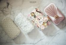 Clutch for bridesmaids & family at Roger-Chika Wedding by Waiwai Clutch