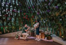 Shangri La Proposal at The Orchid by Lily & Co.
