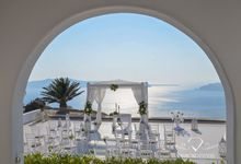 Santorini wedding by Diamond Events