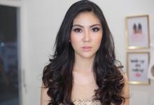 Beautiful Ms. Stevany carolin Tanjaya by Chrestella Lorita MUA