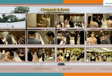 Christandy & Kenny Virtual Online Wedding Live Streaming Holy Matrimony by Truevindo