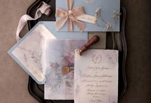 I LOVE YOU TODAY TOMMOROW AND FOREVER by BloomingDays Invitation Studio