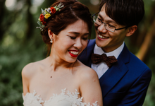 Pre wedding shoot - Marcus + Yee Lian part 2  by The Style Atelier Singapore