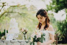 Beauty and the Beast (Garden wedding) by Karis Chiu Makeup