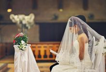 Church Wedding by BestianKelly Photography