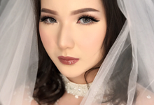 Glowing makeup wedding for agatha by Ciel Makeup Artist