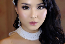 Windy adysty wedding by Ciel Makeup Artist