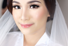 Soft glowing wedding look  by Ciel Makeup Artist