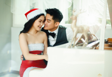 Christmas photoshoot for Boy william and Karen by Ciel Makeup Artist