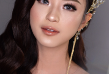 Thailand wedding makeup for Gaby by Ciel Makeup Artist