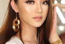 Glowing wedding look  by Ciel Makeup Artist