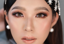 Thailand wedding look for Jennifer by Ciel Makeup Artist
