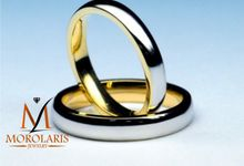 wedding ring simple by Morolaris Jewelry