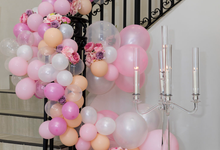 Staircase Balustrade by Cinders Balloons