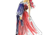 Wedding Illustration by Cinmu Store