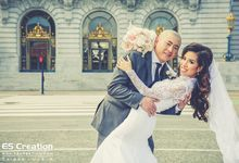 San Francisco destination wedding by ES Creation Photography