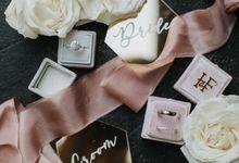 Ian & Franciska - Dreamy Elegant Wedding by Behind The Vows