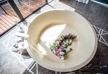 Carene & Justin the romantic wedding at Conrad Samui by BLISS Events & Weddings Thailand