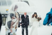 French Winter Wedding by Wild Coast Weddings