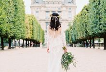 Winnie & Trevor- Luxurious Pre wedding in Paris by Claire Morris Photography