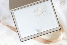 Noel & Ingrid VVIP Invitation Box by The Clementines