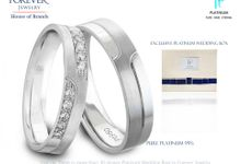 The Platinum Wedding Ring by Forever Jewelry