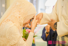Malay Akad Nikah Wedding Ceremony by Click4Loves Photography
