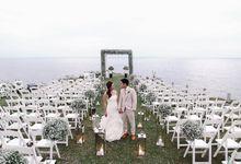 Trish and Cricket Wedding by Bryan venancio photography