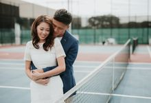 Clinton & Claire - Nanyang Polytechnic Engagement Shoot by Pixioo Photography