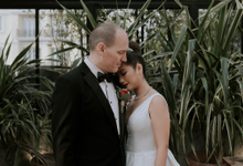Ron & Debbie's Wedding by Cloche Atelier