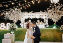 Romantic Glamorous Wedding by Cloris Decoration & Planner