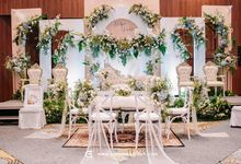 Intimate Wedding of Nidya and Kahfi by Arsenic Wedding Organizer