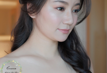 "My pretty bride ""Maggie Cheung "" by Cocoon makeup and hair"
