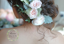 Bride Jaren  by Cocoon makeup and hair