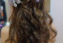 Shun ya AD by Cocoon makeup and hair