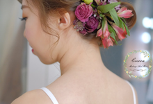Bride Qingyu by Cocoon makeup and hair