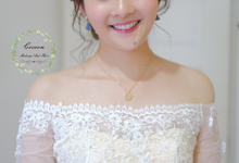 Bride Rachel  by Cocoon makeup and hair