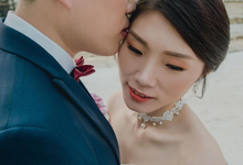 Snowy Batam Wedding  by Cocoon makeup and hair