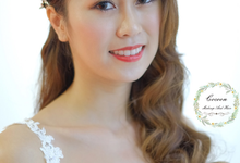 Bride Hui Yang  by Cocoon makeup and hair